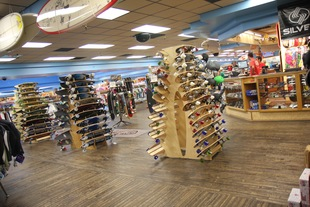 Large variety of skateboards and accessories