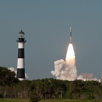 Launch of Delta Rocket on Cape Canaveral