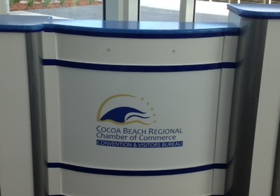 Cocoa Beach Regional Chamber of Commerce CVB Opens New Kiosk Location