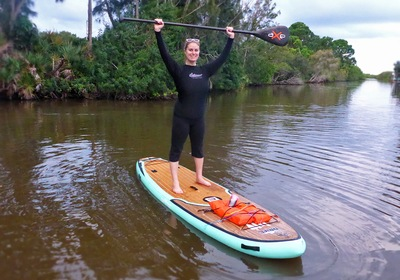 CVB Director Feature: All Water Adventures Paddle Boarding