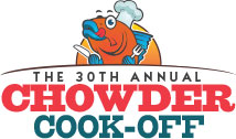 10 Reasons Why You Should Be at the 30th Annual Chowder Cook-Off with a Twist!