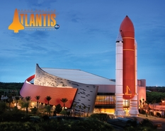 Space Shuttle Atlantis Exhibit