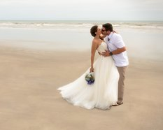 Beautiful beach to get married on